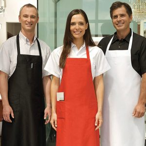 8100TT Econo Bib Apron with Tubular Ties