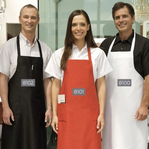 8102 Econo Bib Apron – Three Pocket