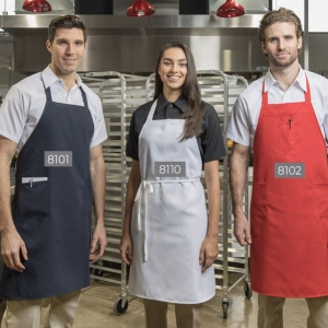 8101 Econo Bib Apron – Two Pocket