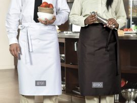 8190 Bistro Apron with pockets