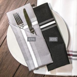 8316 Bistro Napkins 100% Polyester