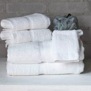 8615 Chateau Dobby Border Towel